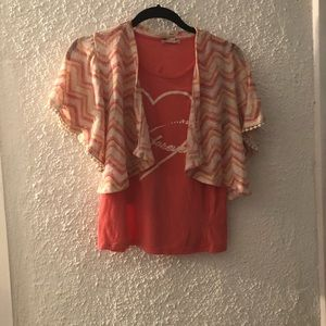 Tangerine Sweater set